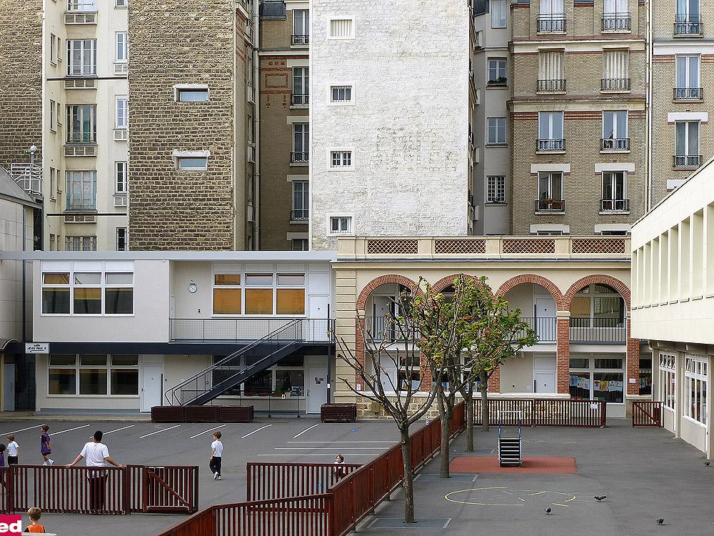 Ed Architectes Groupe Scolaire St Jean De Passy 72 Rue