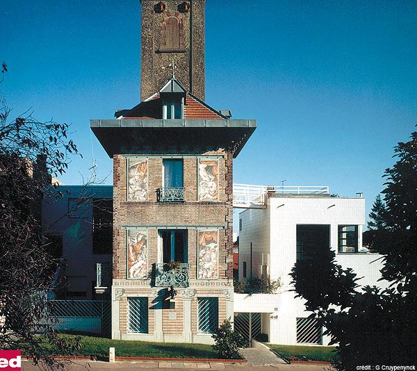 ed architectes la tour de clamart 10 12 rue de meudon. Black Bedroom Furniture Sets. Home Design Ideas
